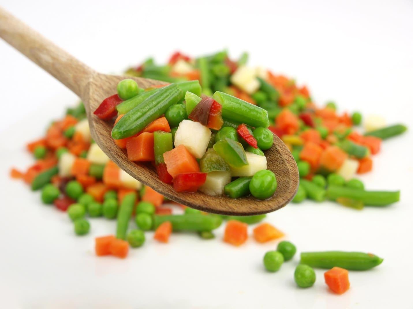 Диетический из замороженных овощей